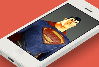 SupermanMockups : Daily Mockups