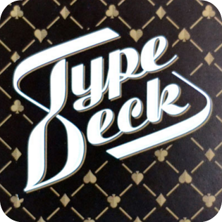 The TypeDeck : Typography Playing Cards